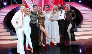 Vier Promis tanzen um den Einzug ins Halbfinale von «Let's Dance» 2014. Larissa Marolt muss sich mit Platz vier zufrieden geben. (Foto)
