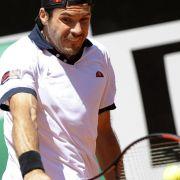 Haas in Rom im Viertelfinale - Kohlschreiber raus (Foto)