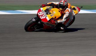 MotoGP 2014 live bei Sport1: Weltmeister Marc Marquez schaffte beim Großen Preis von Frankreich 2014 seinen fünften Sieg in Folge. (Foto)