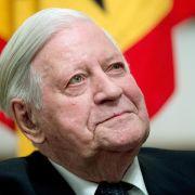 Helmut Schmidt wirft EU «Größenwahn» vor (Foto)