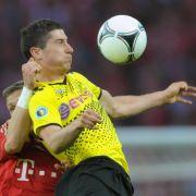 Dortmunds Lewandowski im Pokalfinale dabei (Foto)