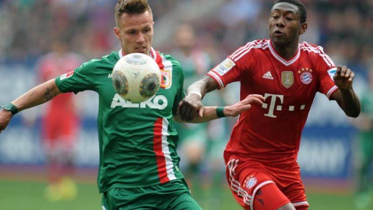 Außenverteidiger Philp verlängert in Augsburg bis 2017 (Foto)