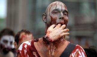 Zombie Run in Stockholm. (Foto)