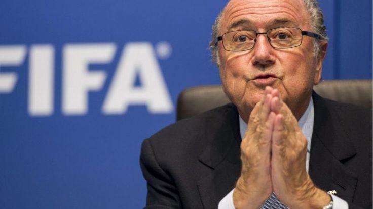 Blatter: Katar-WM ein Fehler - Druck aus Deutschland (Foto)