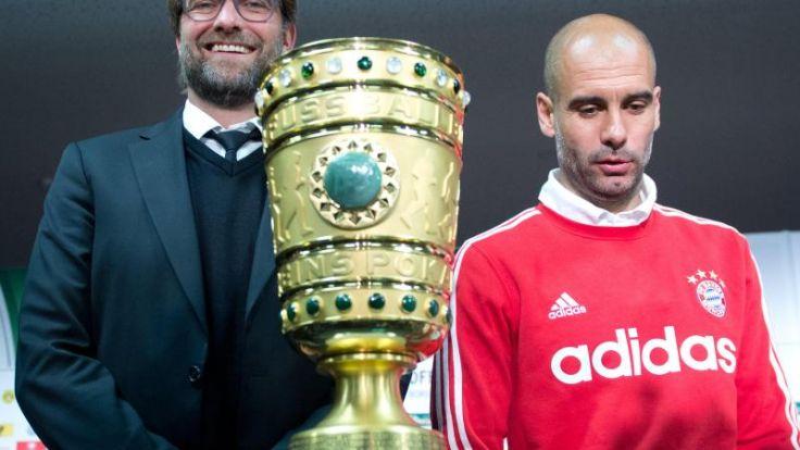 Klopp foppt vor Pokalfinale Guardiola: «Meister reicht» (Foto)