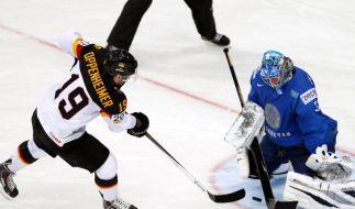 Eishockey-WM 2014: DEB-Stürmer Thomas Oppenheimer wollte gegen Weißrussland wieder treffen, doch es reichte nicht. (Foto)