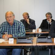 Die Experten beim Lesertelefon (v.l.n.r.): PD Dr. med. Friedhelm Späh, Dr. med. Holger Leitolf, Dr. med. Peter Bosiljanoff, Dr. med. Tobias Wiesner