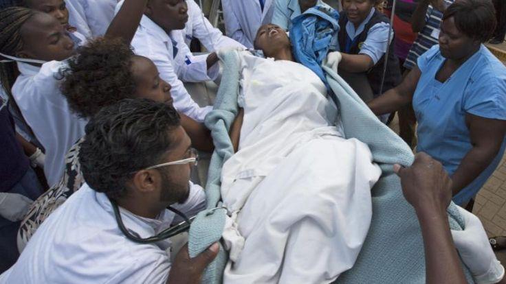 Zehn Tote bei Anschlag in Nairobi (Foto)