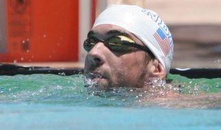 Premierensieg nach Rückkehr: Phelps über 100 Meter vorn (Foto)