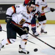 Stürmer Ehliz bei Eishockey-WM nachgemeldet (Foto)