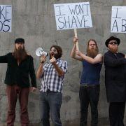 Musik mit Bart: Australiens haarigste Band auf Erfolgskurs (Foto)