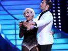 Die Freude war groß: Carmen Geiss kann ihr Weiterkommen bei «Let's Dance» 2014 kaum fassen. (Foto)