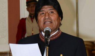 Boliviens Präsident «wechselt» zu Sport Boys (Foto)
