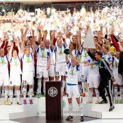Frankfurt holt «Pott nach Hause»: 3:0 im Pokalfinale (Foto)