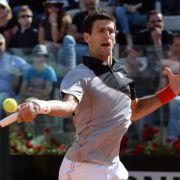 Nadal und Djokovic beim Turnier in Rom im Finale (Foto)