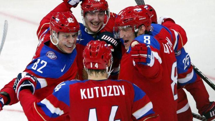 Russland WM-Viertelfinalist - Kasachstan steigt ab (Foto)
