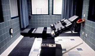 Bei einer Hinrichtung durch die Giftspritze hatte es in Oklahoma zuletzt Probleme gegeben. (Foto)