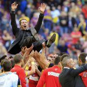 Spanien feiert «Guru» Simeone: Atlético ist Meister (Foto)