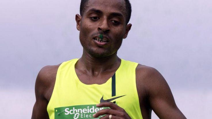 Bekele gewinnt Laufduell mit Weltrekordler Kipsang (Foto)