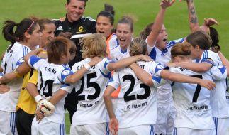 Lange FFC-Partynacht nach 9. Pokalsieg (Foto)