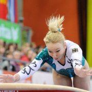 Turnerinnen nach Teamplatz vier ohne EM-Medaille (Foto)