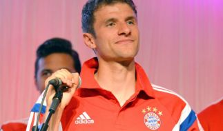 15 000 Bayern-Fans feiern ihre Pokalsieger in München (Foto)