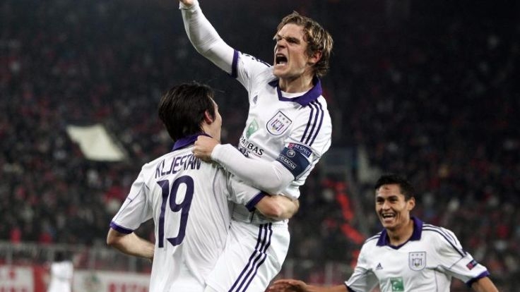 Anderlecht zum 33. Mal belgischer Meister (Foto)