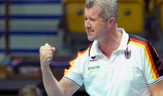 Volleyball-Herren verlieren Testspiel gegen Belgien (Foto)