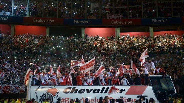 Argentiniens River Plate holt sich Rückrunden-Titel (Foto)
