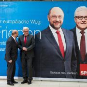 SPD setzt im Wahlkampf-Endspurt auf «Zugpferd» Steinmeier (Foto)