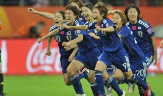Die Japanerinnen stehen erneut im WM Finale. (Foto)