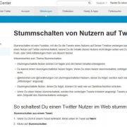 Nervige Twitter-Nutzer einfach ausblenden (Foto)