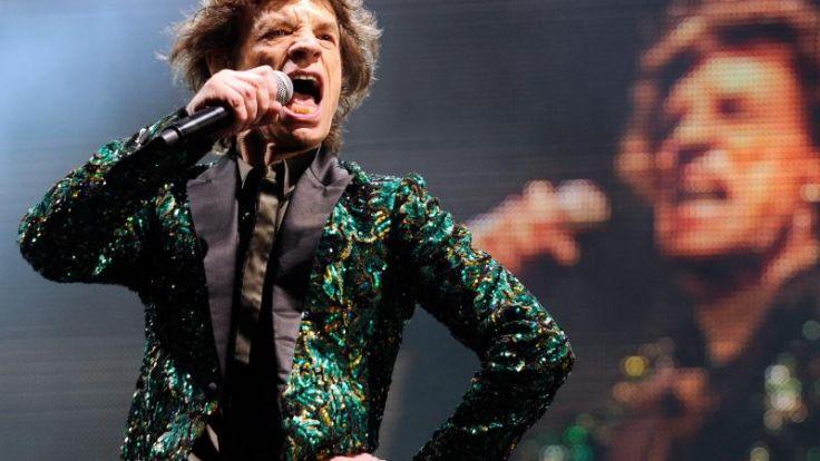 Mick Jagger ist Urgroßvater (Foto)