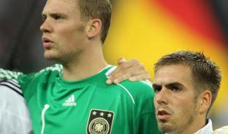 Neuer und Lahm in WM-Camp dabei (Foto)