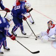 Weißrussland und Frankreich im WM-Viertelfinale (Foto)