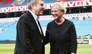 IOC-Chef Bach wirbt in Norwegen für Olympia 2022 (Foto)