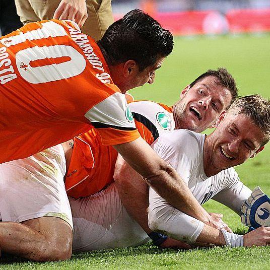 Relegation 2014: Darmstadt 98 schafft das Fußballwunder! (Foto)