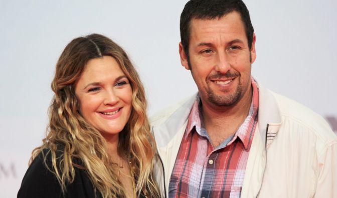 Die Hollywoodstars Drew Barrymore und Adam Sandler ließen es sich natürlich nicht nehmen, persönlich auf der Weltpremiere von «Urlaubsreif» anwesend zu sein. (Foto)