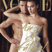 Liebe und Fußball: Starfotograf Mario Testino fotografierte Cristiano Ronaldo und seine Freundin Irina Shayk für die Juni-Ausgabe der spanischen «Vogue».