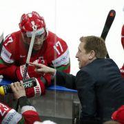 Kanadischer Coach jubelt mit Weißrussen - «Halleluja» (Foto)