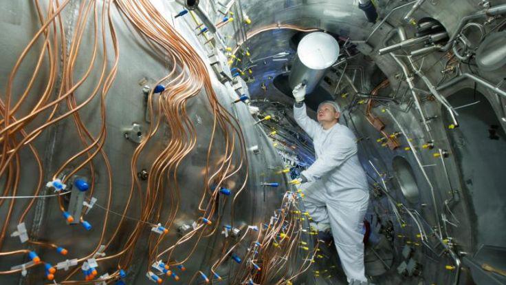 Vorbetrieb von Fusionsexperiment «Wendelstein 7-X» begonnen (Foto)