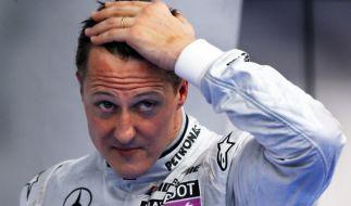 Michael Schumacher versteigerte einen Rennanzug für Hochwasseropfer. (Foto)