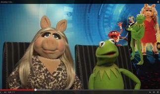 Muppet-Diva Miss Piggy tanzte mit ihrem Videogruß mal wieder aus der Reihe. (Foto)