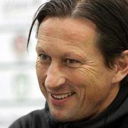 Schmidt will mit Leverkusen in die Champions League (Foto)