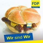 Wenn sich die FDP zur Wurst macht (Foto)