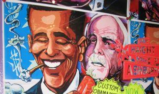 Auch US-Präsident Barack Obama rauchte als Jugendlicher wohl Marihuana. (Foto)
