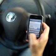 Kampagne gegen Handy-Simsen am Steuer:«Tippen tötet» (Foto)