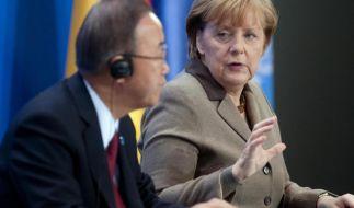 Wird Angela Merkel Ban Ki Moon beerben? (Foto)