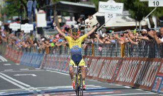 Rogers gewinnt 11. Giro-Etappe (Foto)
