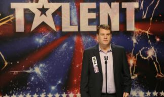 Paul Potts (James Corden) gelang mit «Britain's got Talent» der Sensationsdurchbruch. (Foto)